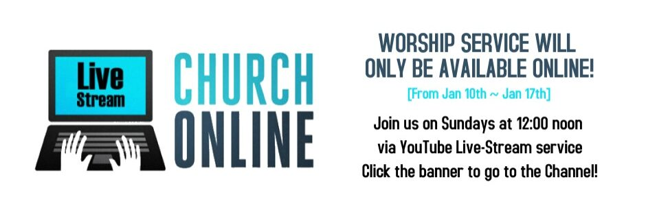 Online Service Notice - Click the banner to go to our YouTube channel